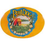 Puka Dog Sign
