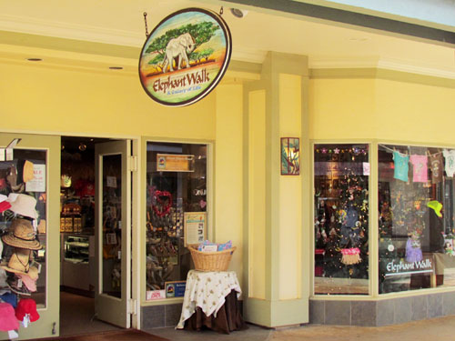 Poipu Shopping Village Elephant Walk Store Front