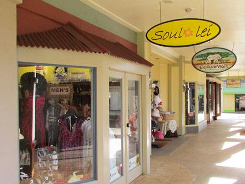 Poipu Shopping Village Soul Lei Store Front