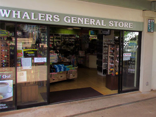 Poipu Shopping Village Whalers General Store