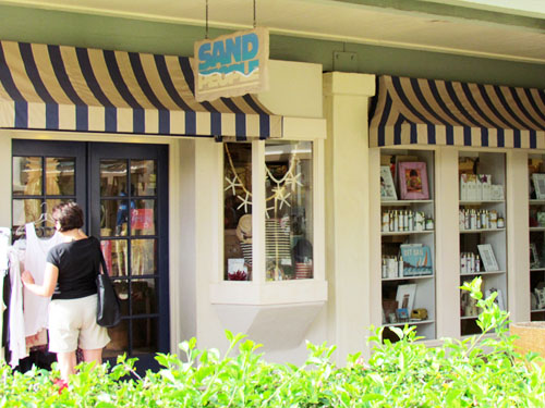 Poipu Shopping Village Sand People Store Front