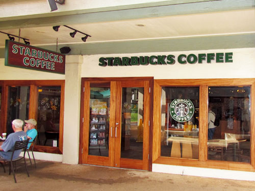 Poipu Shopping Village Starbucks Store Front