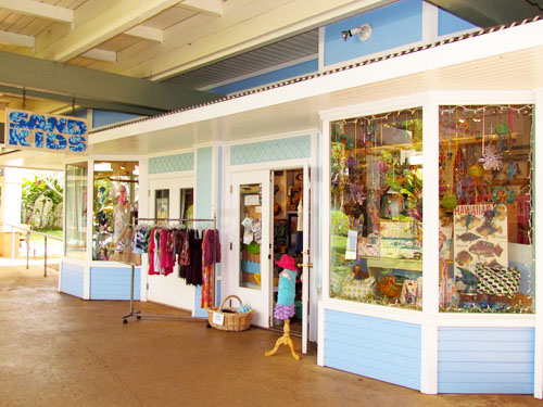 Poipu Shopping Village Sand Kids Store Front