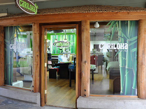 Cariloha Bamboo Storefront