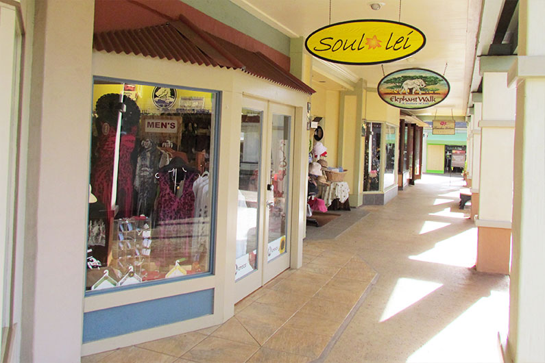 Soul Lei Poipu Shopping Village