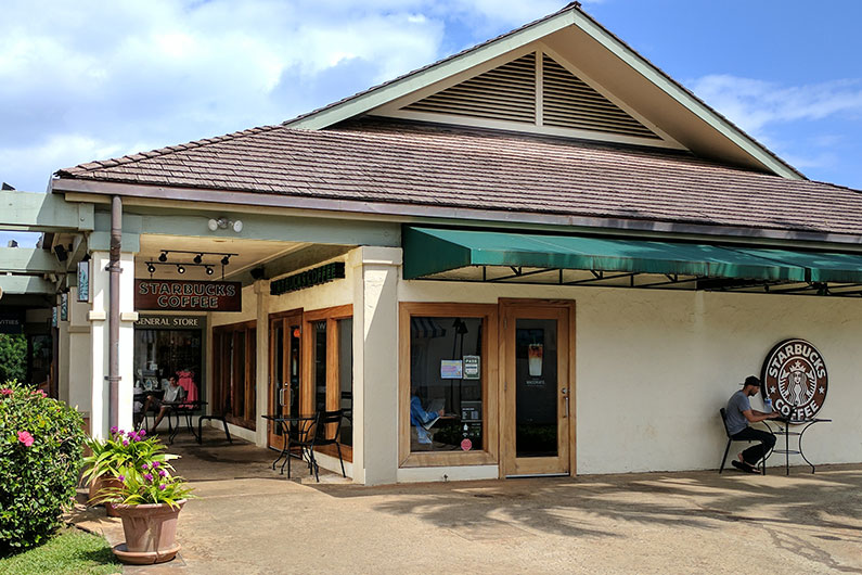 Starbucks Poipu Shopping Village
