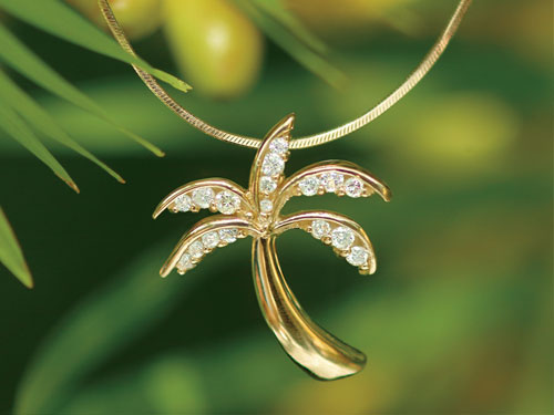 Na Hoku at Poipu Shopping Village Palm Tree Jewelry Image