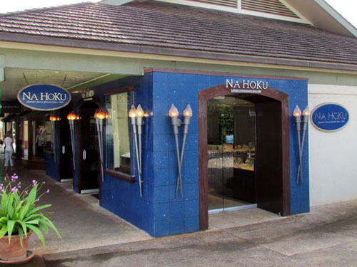 Na Hoku at Poipu Shopping Village Entrance