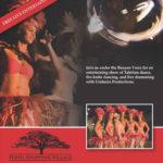Tahitian Dance flyer
