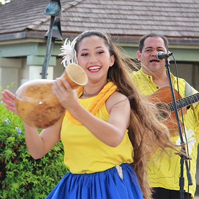 Live Entertainment Every Monday and Thursday at 5:00 pm (No Hula show scheduled until further notice.  Mahalo.)