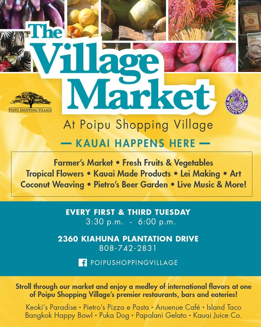 The Village Market every 1st and 3rd Tuesday